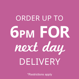 Order up to 6pm for same day delivery to York